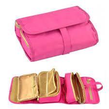 makeup travel bag images Travel foldable hanging travel makeup bag jpg