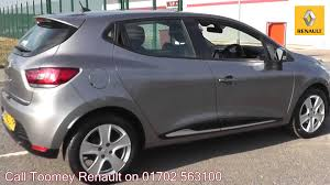 2013 renault clio dynamique medianav 1 2l oyster grey hv63cyp for