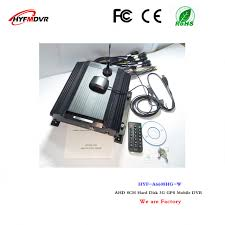 aliexpress location 8 channel hard disk video recorder 3g mdvr gsp location monitoring