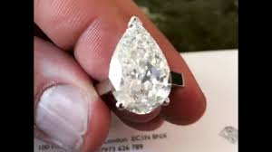 10 karat diamond ring 10 carat pear shape diamond engagement ring