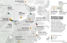 Boston University Map by Officials Discuss Olympic Bid In Boston Friday Morning The