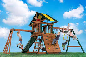 Backyard Playground Slides by The Best Backyard Playground Equipment Of 2017 Gardener U0027s Path