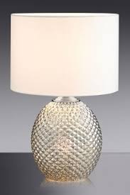 Silver Nightstand Lamps Silver Table Lamps Silver Led Touch Lamps Next Official Site
