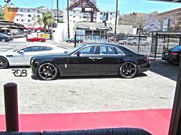 roll royce vorsteiner rdb la 2013 rolls royce ghost 24 u0027s lowered custom interior 1 of 1