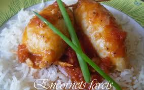 cuisiner des encornets recette encornets farcis 750g