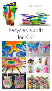 amazing recycled crafts for kids craft activities and kid