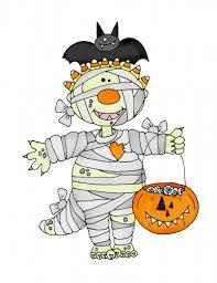 freebie halloween mummy digi stamp u2013 stamping