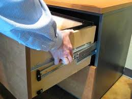 hon lateral file cabinet drawer removal how to remove a techline lateral file drawer youtube