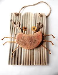 Driftwood Art Hermit Crab Rusty The Crab Rustic Home Decor