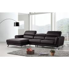 Black Leather Sofa Modern Modern Contemporary Sofa Sets Sectional Sofas Leather Couches
