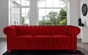 Sofas Chesterfield Divano Roma Furniture Velvet Scroll Arm Tufted Button