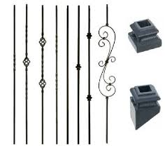 Metal Banister Spindles Stair Spindles Home U0026 Garden Ebay