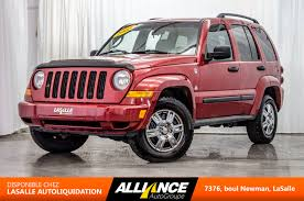 red jeep liberty 2009 2005 jeep liberty renegade 4x4 used for sale in lasalle