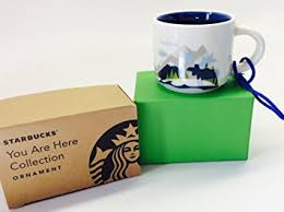mug ornament alaska starbucks you are here ornament 2oz cup