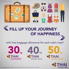 Baggage Allowance United Thai Airways On Twitter
