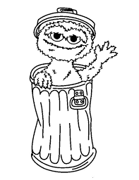 67 sesame street coloring pages images sesame