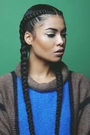 Braided Hairstyles With Weave Best 25 Two French Braids Ideas On Pinterest 2 Cornrow Braids