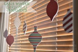 large wooden ornaments the happy scraps