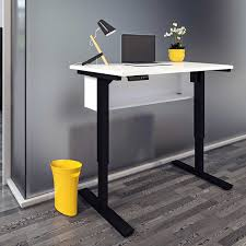 bayside computer desk height adjustable desks costco