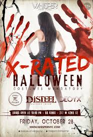 Halloween Graphics For Facebook by Whisper Nyc X Rated Halloween Bbkings 21 Tickets Fri Oct