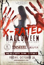 whisper nyc x rated halloween bbkings 21 tickets fri oct