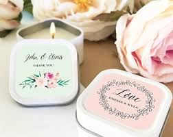 candle wedding favors candle wedding favor etsy