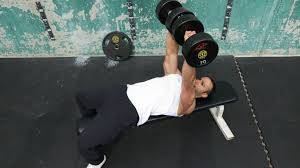 Flat Bench Press Dumbbell Build More Chest Muscle In Less Time Muscle U0026 Fitness