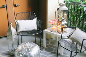 style at home small space moroccan patio décor bondgirlglam com