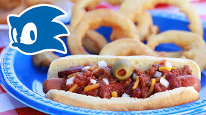 sonic chili dogs with gold onion rings nerdy nummies youtube