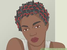 installing extension dreads in short hair how to start dreads with short hair 9 steps with pictures