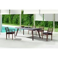 industrial outdoor dining table u2013 cement u0026 wood scenario home