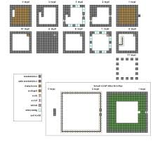 apartments simple house blueprint minecraft simple house
