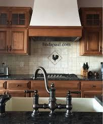 kitchen backsplash metal medallions rooster kitchen backsplash kitchen design ideas