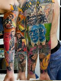 dc comic tattoos for men comic tattoo comic book tattoo and