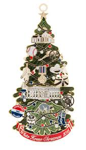 White Christmas Tree Decorations For Sale by Official Souvenir Ornament National Christmas Tree Lighting
