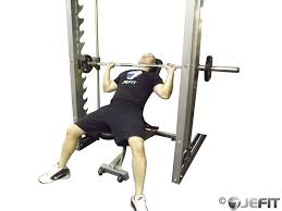Decline Smith Machine Bench Press Smith Machine Incline Bench Press Exercise Database Jefit