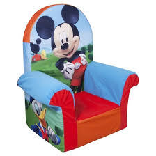 Toy Chair Mickey Mouse Children U0027s Foam High Back Chair Marshmallow Furniture