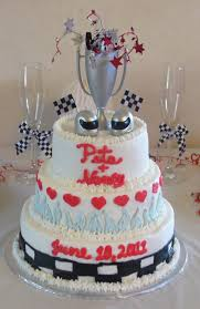 multicolor race car wedding cakes celebrationz cakes wedding