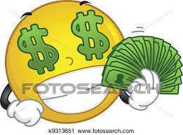 clipart money clipart money loving smiley k9313651 recherchez des clip arts