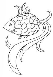 coloring fish printable kids colouring pages coloring