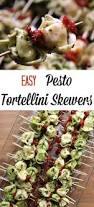 easy pesto tortellini skewers recipe tortellini skewers pesto