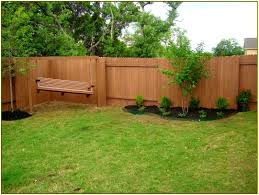 fence ideas for small backyard unconventional fencing ideas for backyards fences design