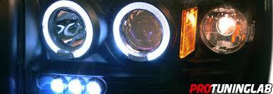 2007 dodge dakota lights 05 07 dodge dakota truck halo led projector headlights