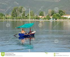 Awning Boat Colourful Greek Fishing Boat Editorial Photo Image 56299581
