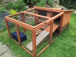 Large Rabbit Hutch With Run Cheeko Guinea Pig Rabbit Hutch And Run Keighley West