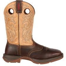 rebel by durango saddle up men u0027s tan and brown western boot