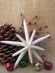 mirrored starfish tree topper decor
