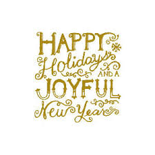 happy holidays joyful new year rubber st polyvore