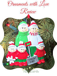 celebrate with personalized ornaments our of