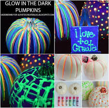 Glow In The Dark Halloween Decorations Diy by Diy Glow In The Dark Pumpkins Wedding Pinterest Halloween